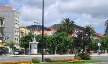 Núcleo urbano de Cangas